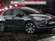 20000 TL En İyi Dizel Araba Tavsiyesi