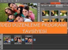 Video düzenleme Program tavsiyesi