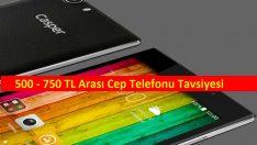 500 – 750 TL Arası Cep Telefonu Tavsiyesi (2016)
