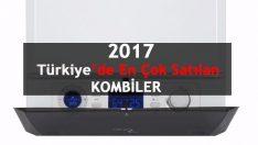 Türkiye'de en çok satılan kombiler 2017